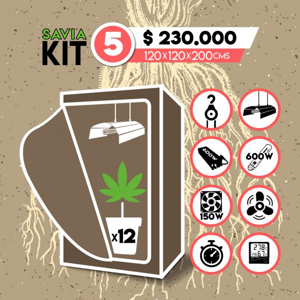 savia growshop kit indoor 5