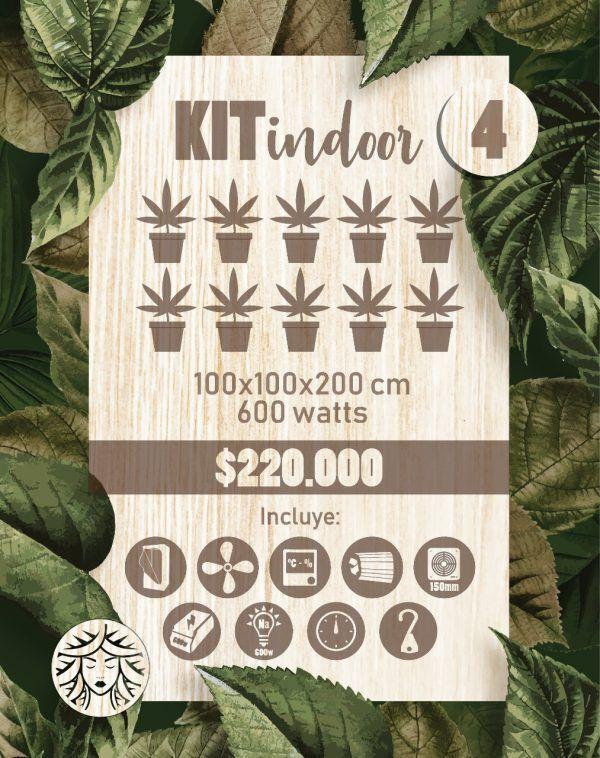 Kit Indoor 100x100x200