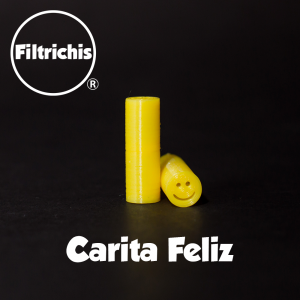 FILTRICHI CARITA FELIZ 5 UNIDADES- AMARILLO