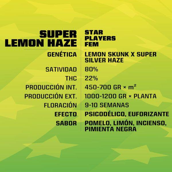 Super Lemon Haze Feminizada BSF - (x2)