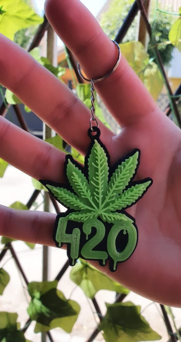 Llavero 420
