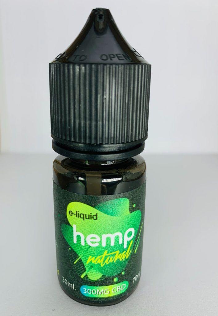 E-liquid 100mg de 30ml sabor WEED – Natural Hemp