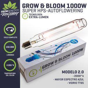 AMPOLLETA MIXTA (GROW&BLOOM) 1000W – GROW GENETICS