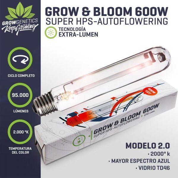 Ampolleta Mixta 600 - GrowGenetics