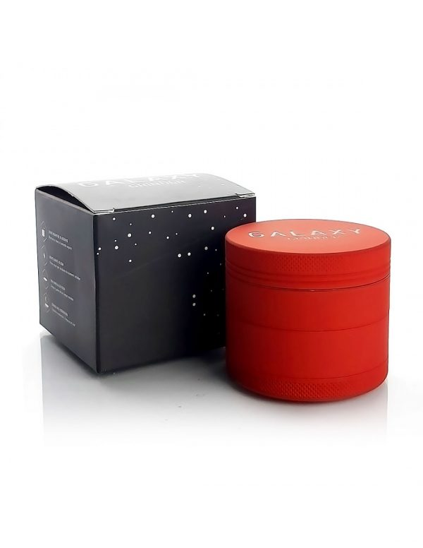 Moledor grinder Galaxy matte 55 mm rojo