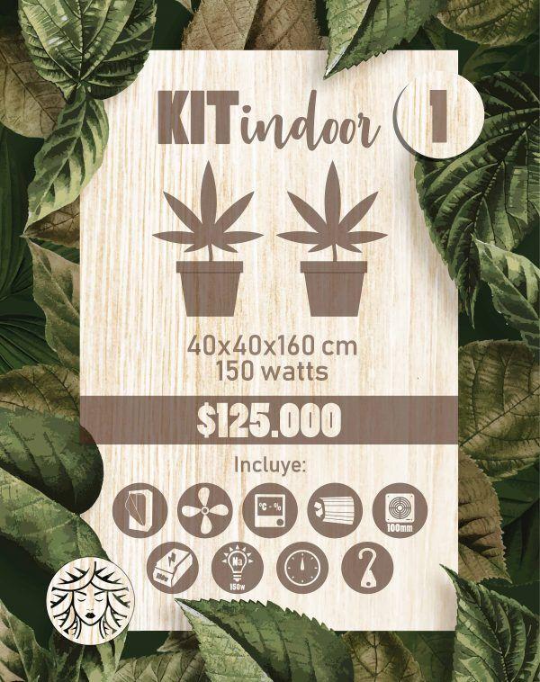 Kit Indoor 40x40x160