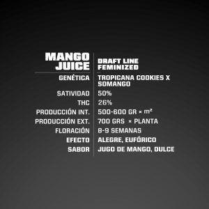 Mango Juice fem BSF – (x4)