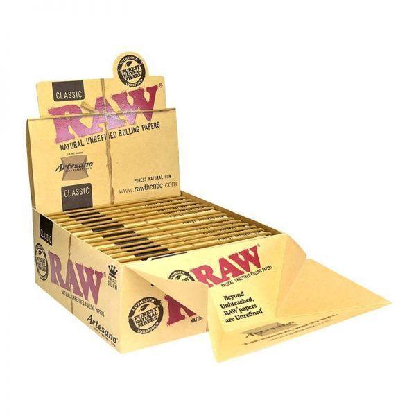 Raw artesano + filtro c/bandeja