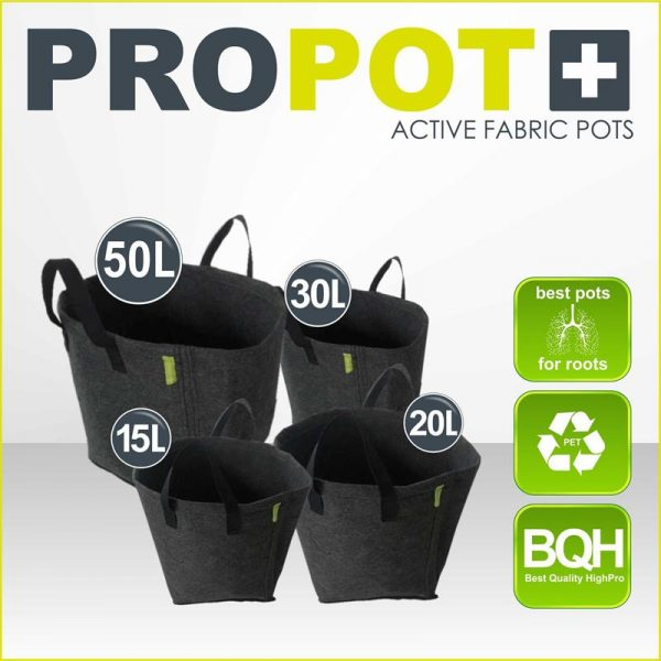 PROPOT 50L (MACETA TEXTIL) - GARDEN HIGHPRO