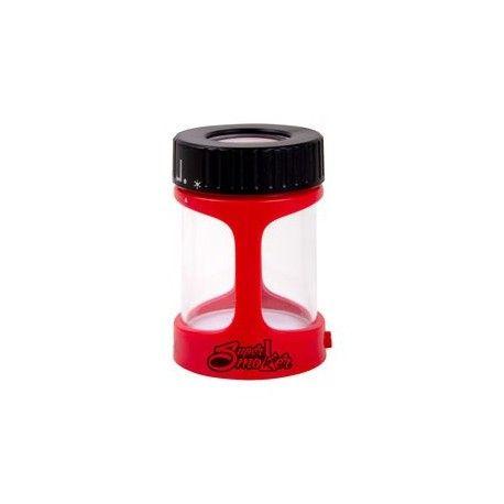 Bote super focus de luxe negro y rojo