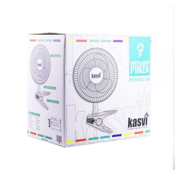 Ventilador de Pinza 15W - Kasvi