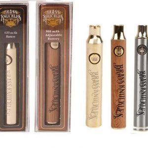 Brass Knuckles Vape Battery – Silver